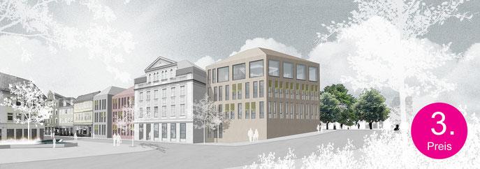 Visualisierung Verwaltungszentrum Eschwege, Kreisverwaltung Werra-Meißner-Kreis