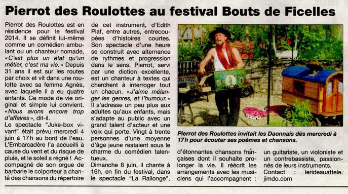 Haut Anjou - 6 juin 2014