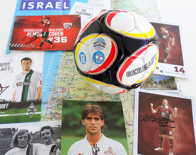 Fußball-Collage Israel