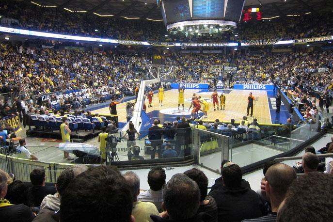 Die Nokia-Arena in Tel Aviv