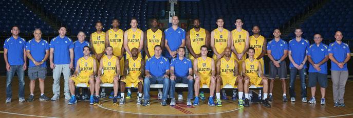Teamfoto von Maccabi Tel Aviv aus der Saison 2013/2014