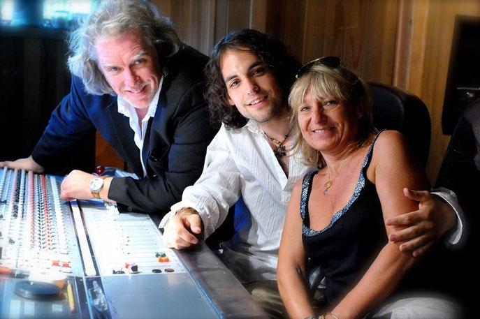 Avec Guy St-Onge et Fanfan Bachelet   Photo : Pierre Rochette