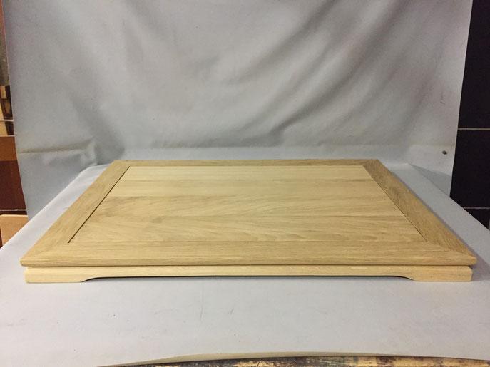 48 - Tablette en chêne : 800x500x50