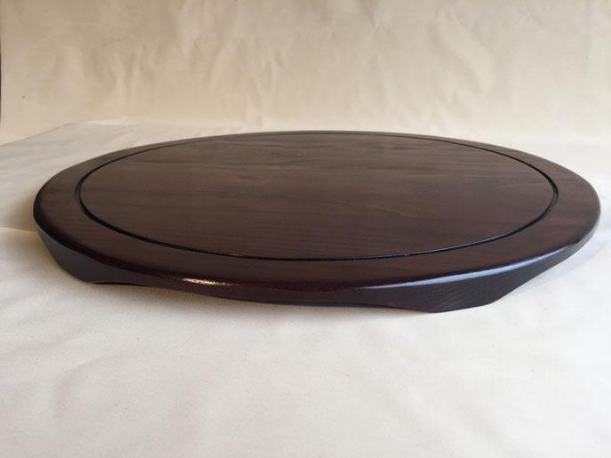 42 - Tablette ronde en hêtre, diamètre 500 mm, épaisseur 25mm