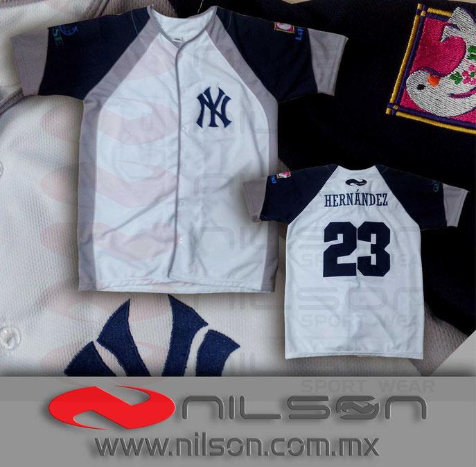 jersey beisbol nilson