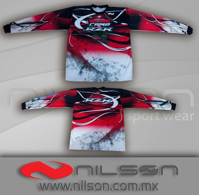 jersey nilson sublimacion fullcolor manga larga moto