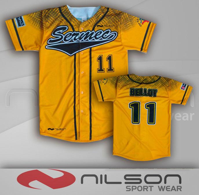 #nilson camisola sublimada beisbol nilson