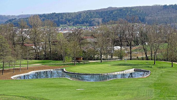 Bahn 15 die neue sportliche Herausforderung - © Golf-Club Hohenstaufen e.V.