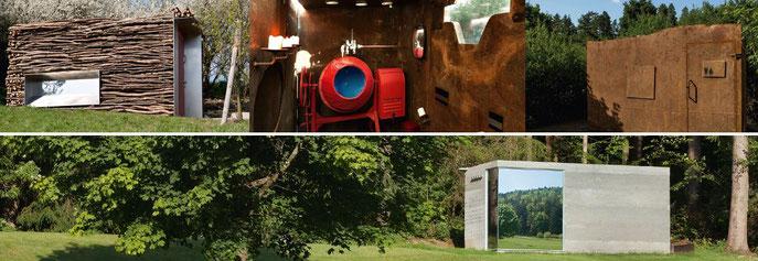 """Spektakuläre Design-Toiletten mit """"Aussicht"""" - © Golfclub Lauterhofen e.V."""