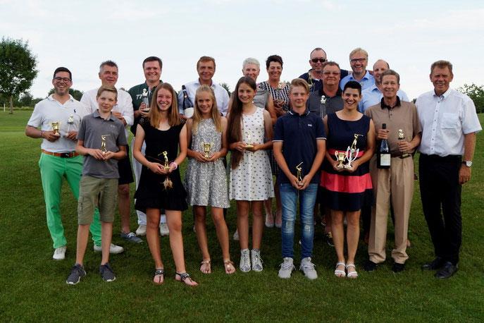 Die Sieger des Stauferlandcups 2018 - © Golf Club Hetzenhof