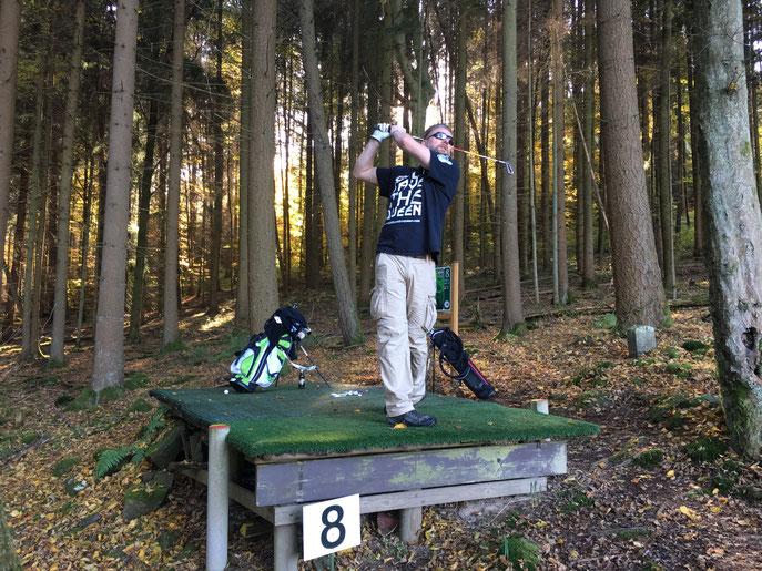 Wie es in den Wald hineinschallt, so schallt es auch heraus - ©The GolfFellas