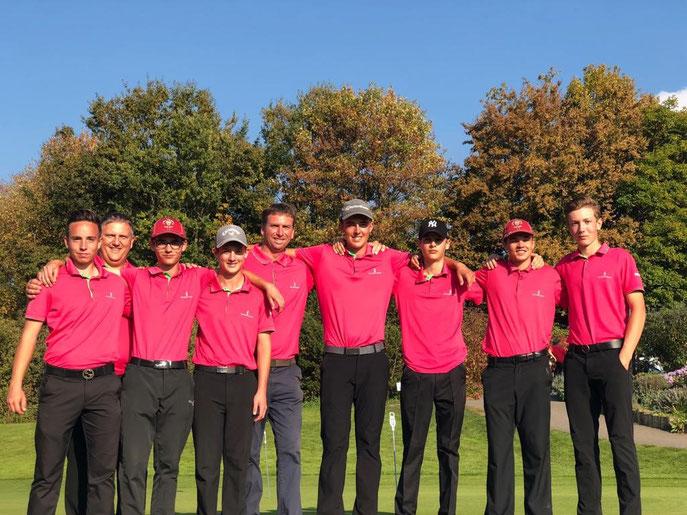 AK 16 Jungen aus dem GC SLR holen Bronze - © Golf Club St. Leon-Rot