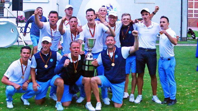 Start-Ziel-Sieg für die Herren des Stuttgarter GC, die eine souveräne Saison mit dem Sieg beim Final Four krönten (Foto: DGV/Stebl)