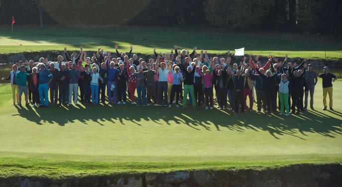 180topmotivierte und begeisterte Teilnehmer des STRAWBERRY TOUR Finale - © GOLF4LIFE GmbH