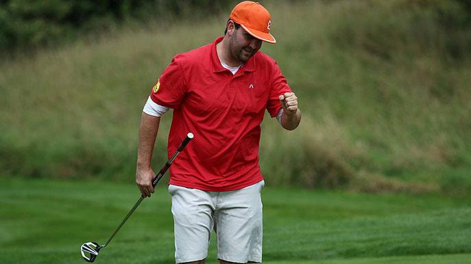Der 29 jährige Kristian Kemmler vom GC Reutlingen-Sonnenbühl e.V. holte sich bei den Baden-Württembergischen Einzelmeisterschaften in der offenen Altersklasse der Golf-Herren einen hervorragenden dritten Platz - ©  Golfclub Reutlingen-Sonnenbühl e.V.