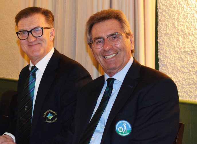 v.l.n.r. Jean-Claude Parent (BGV Präsident) und Otto Leibfritz (BWGV Präsident) - © BWGV