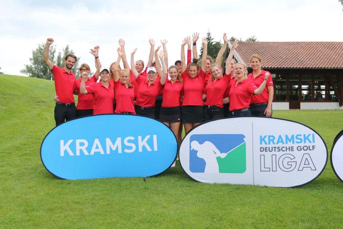 Die Damen des GC St. Leon-Rot stehen mit 14 Punkten souverän an der Spitze - © DGV/Lettenbichler