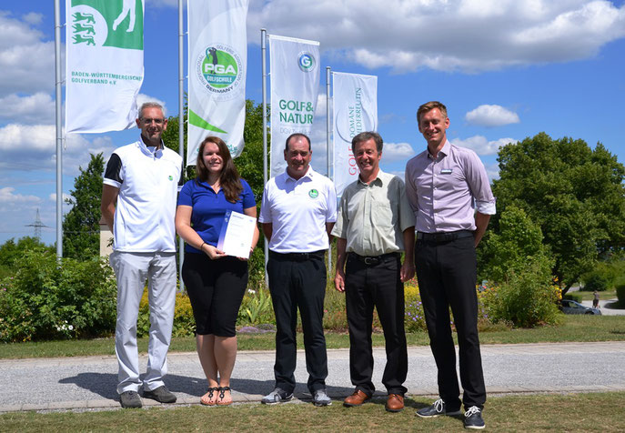 Übergabe der Zertifizierung - © Golfclub Domäne Niederreutin GmbH