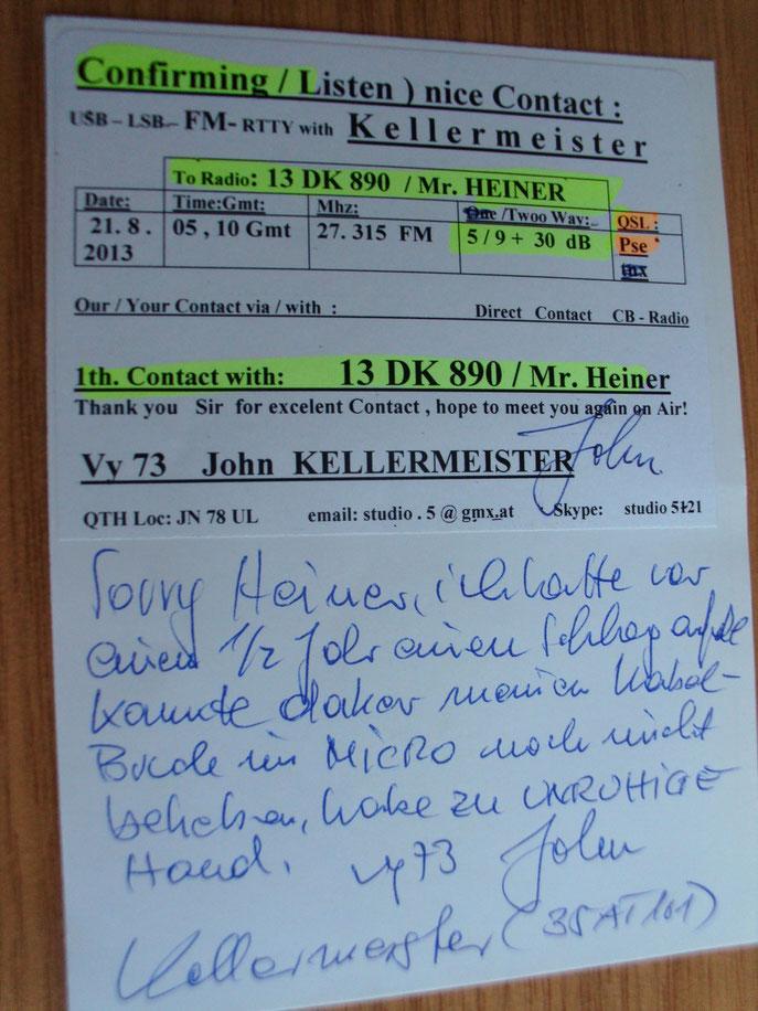 many thx to dear friend John near vienna