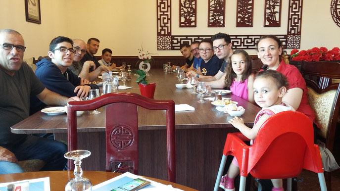 Dimanche 5 juin 2016, repas de fin de session et assemblée générale, au restaurant
