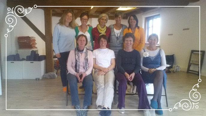 Die 1. Ausbildungs-Gruppe Beginn Oktober 2014