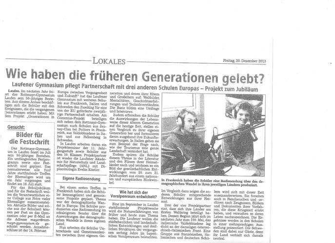 Freilassinger Anzeiger 12/20/2013