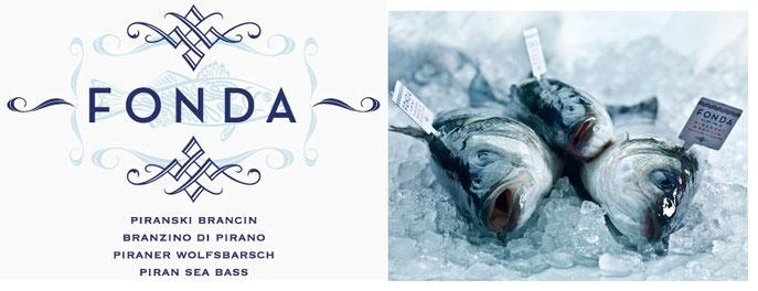 Branzino Wolfsbarsch Loup der mer fischgenuss Frischfisch Fonda Nägler gegrillter Fisch Fischgeschäft Fischspezialitäten