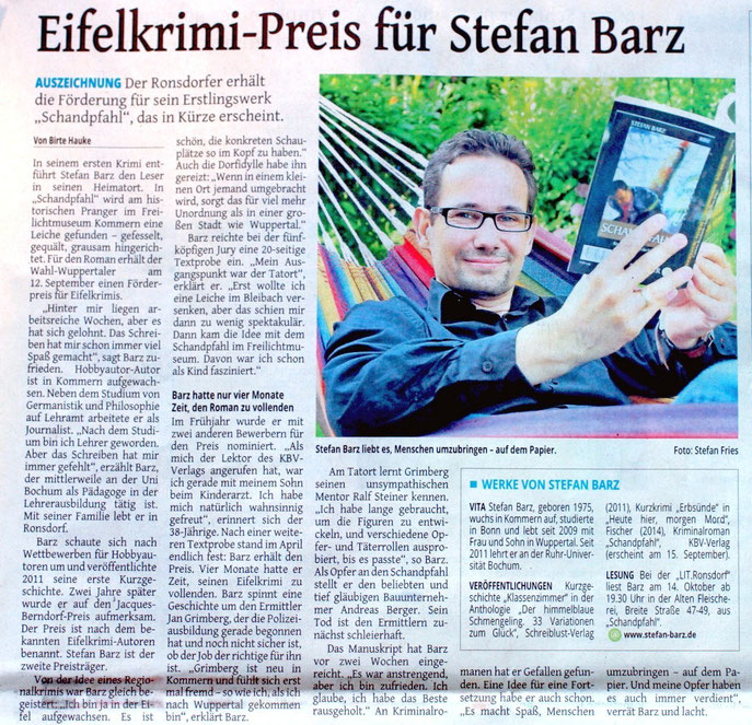 Westdeutsche Zeitung, 28.8.14
