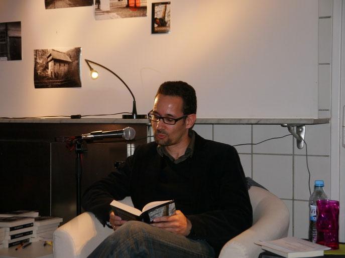 """Gestern in der Ronsdorfer Galerie """"Die alte Fleischerei"""": Lesung im Rahmen der Lit.Ronsdorf. Gut besucht und schön war's..."""
