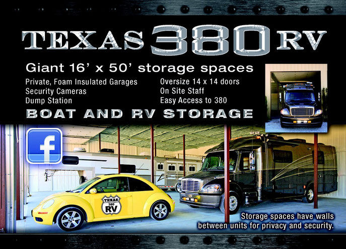 Denton, Texas RV and Boat Storage