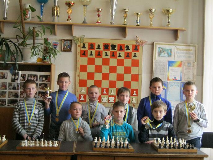 Переможці та призери змагань