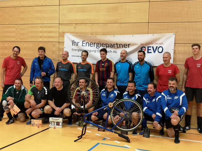 Platz 3 (Keller/Zmuda) & 4 (Wissel/Hansl) für die beiden Hochstädter Teams in OF-Bieber...Turniersieger Darmstadt-Arheiligen
