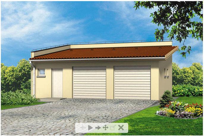 Garage Terrasse 23 M2 Chalet Bois Cbi