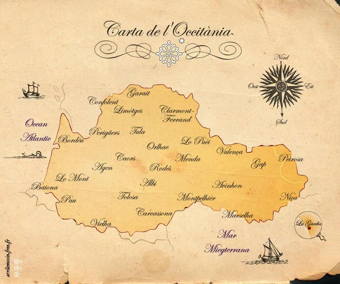 Vielha carta d'Occitania
