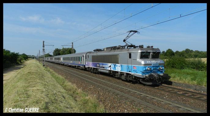BB 22 397 EV Lyon Dijon à Beaune Abattoire .