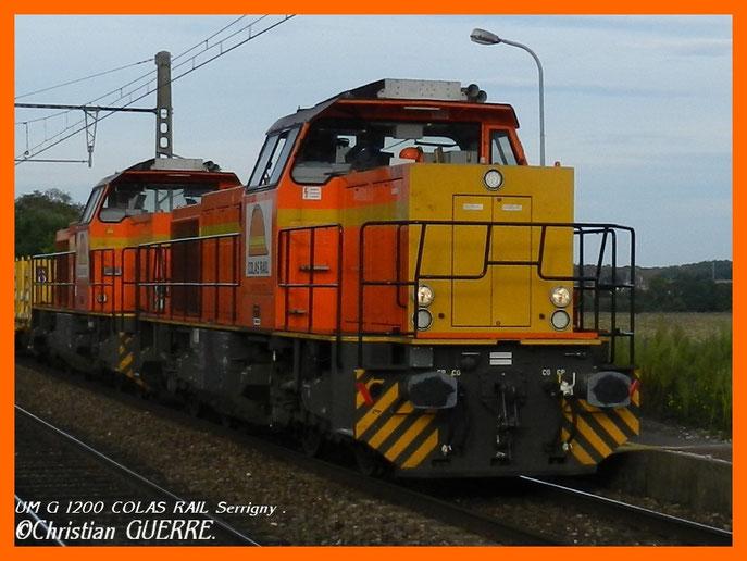 G 1200 Colas Rail à Serrigny .