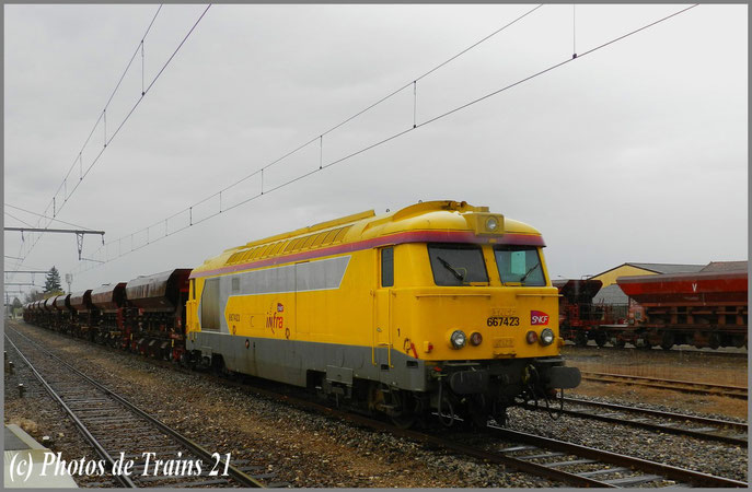 BB 67423 INFRA à Beaune .