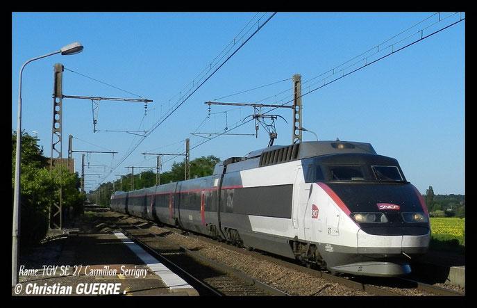 TGV SE Carmillon à Serrigny