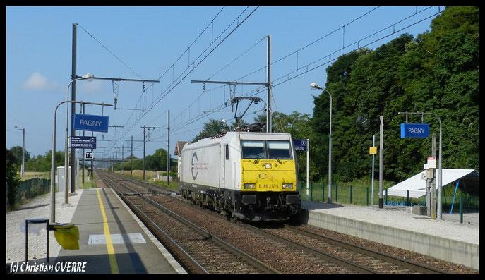ECR E186 Traxx PAGNY
