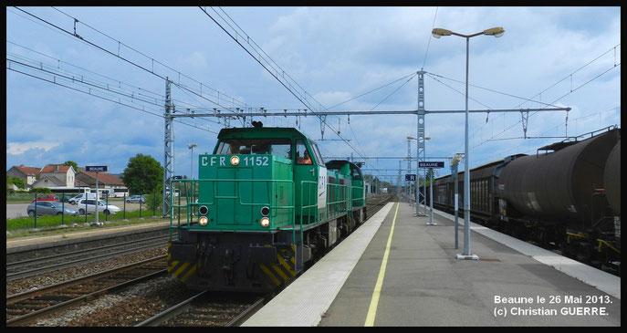 CFR 1152/1376 à BEAUNE .