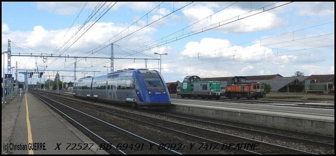 X 72527 +69491 +Y 8092+Y 7417 à Beaune