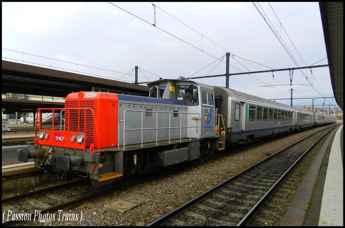 Y 8291 Bourgogne TER DIJON