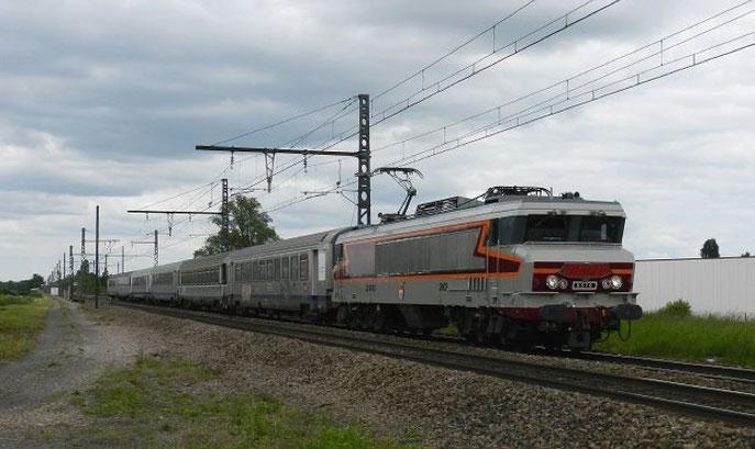 """CC 6570 'Mistral"""" à Meursault"""