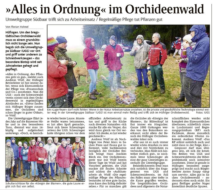 Schwarzwälder Bote 8. Dezember 2014