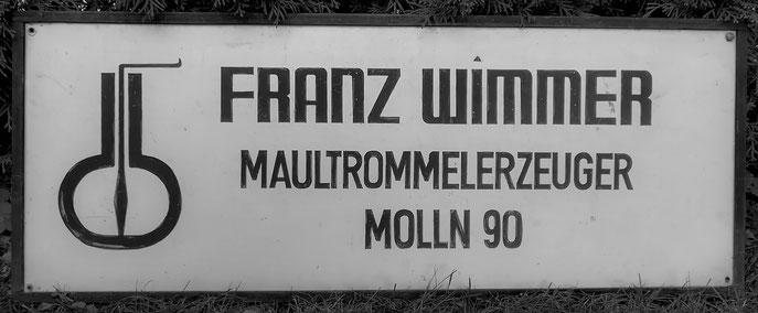 FRANZ WIMMER MAULTROMMELERZEUGER