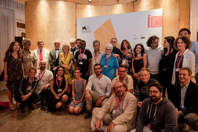 Les participants de Final Cut Venice 2019 © Matteo Losurdo/La Biennale de Venezia