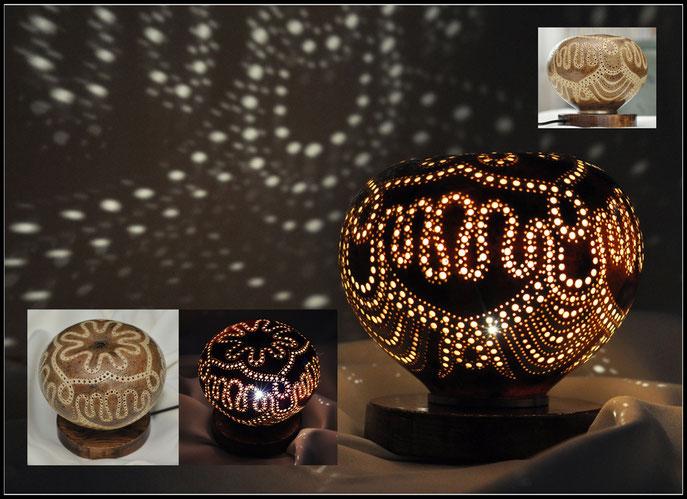 lampka z tykwy