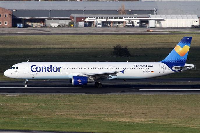 Condor A321 D-AIAA