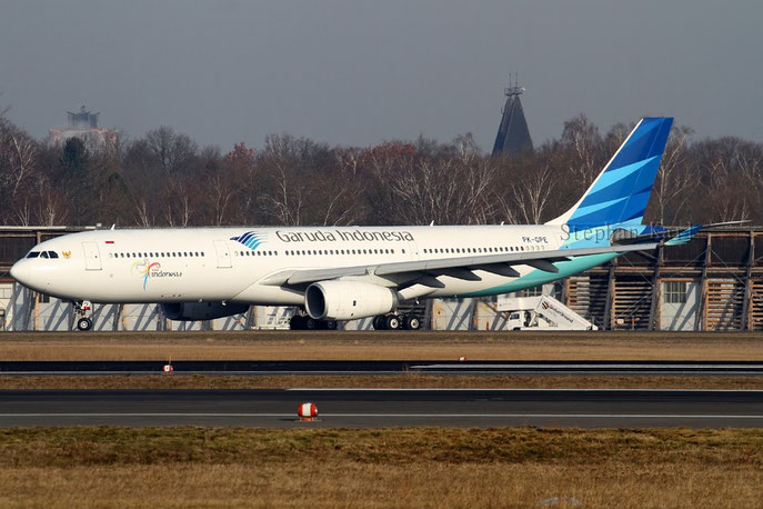 Garuda Indonesia A330 PK-GPE