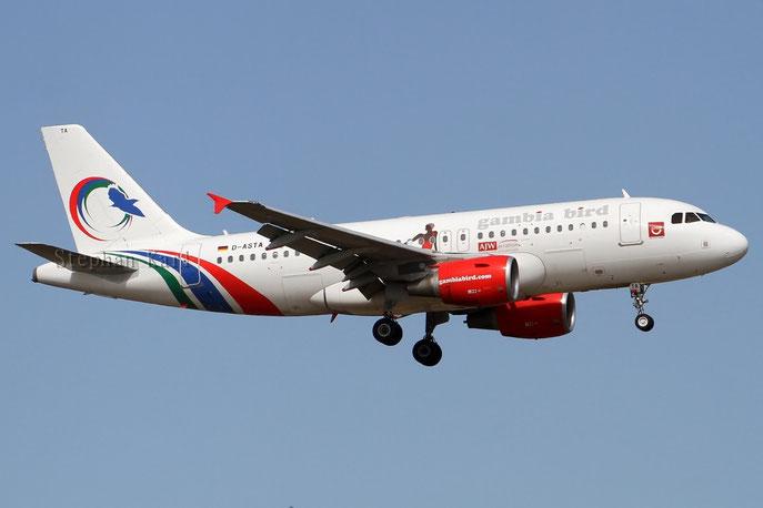Gambia Bird A319 D-ASTA